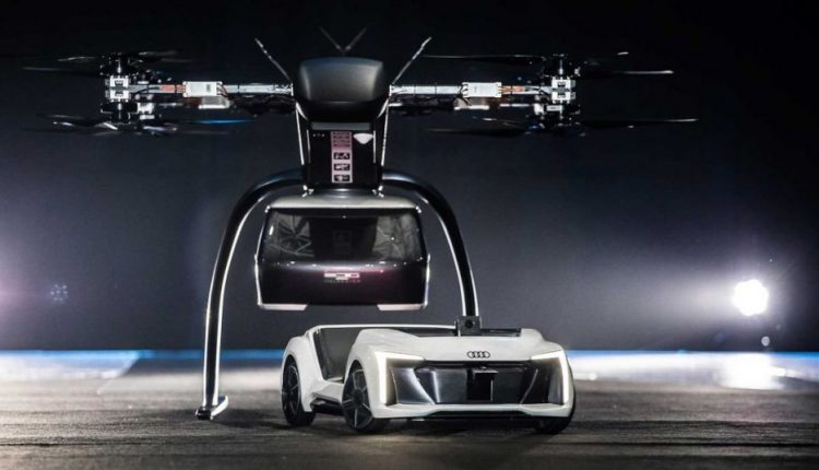 Futuristic Audi Concept Transforms Into a Flying Taxi