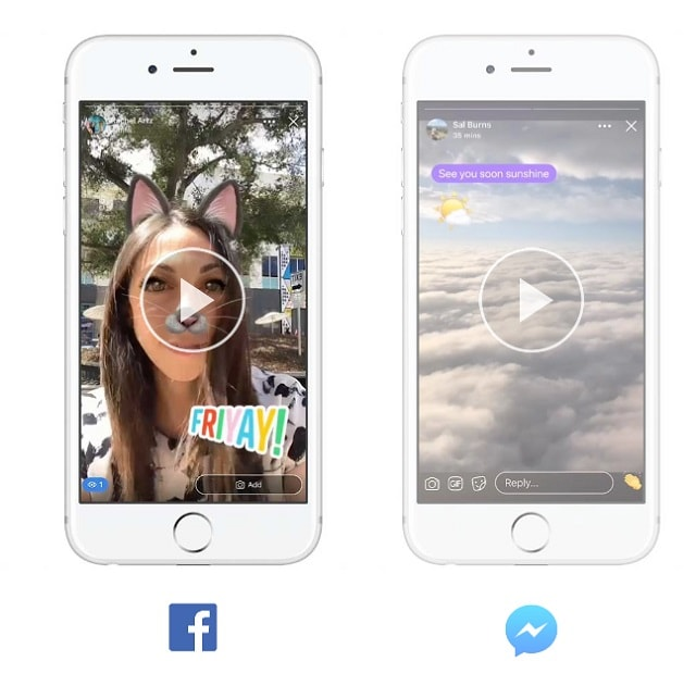 How To Use Facebook Stories Example