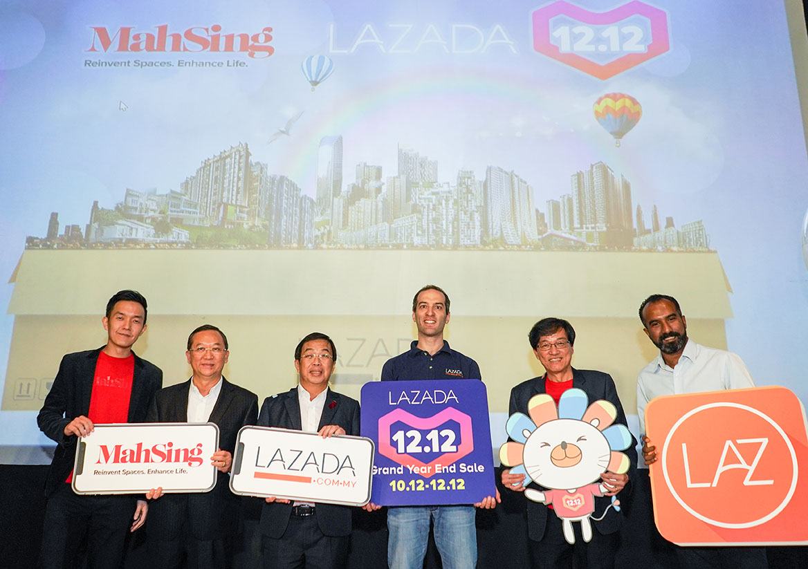 Mah Sing & Lazada first to sell homes online in SEA on 12.12