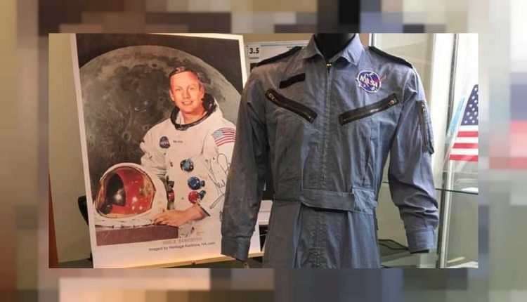 Neil Armstrong astronaut memorabilia auction lifts off   Innovation