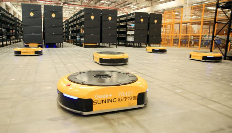 Relative unknown pulls biggest-ever funding for AI-enabled logistics robots