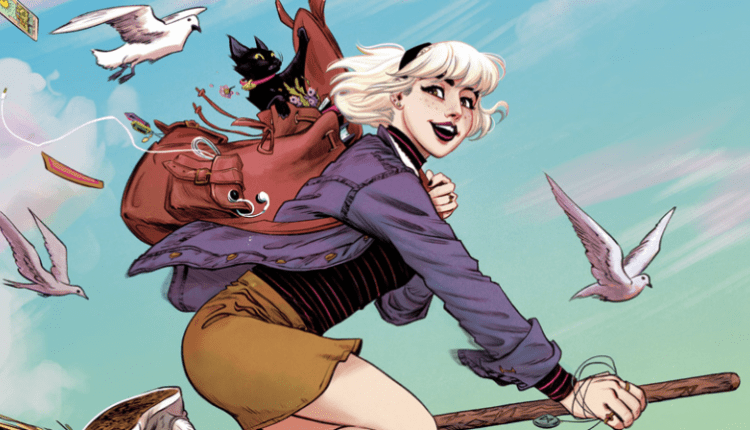 Sabrina Is Conjuring Herself A New, Distinctly Unchilling Comic | Gaming News