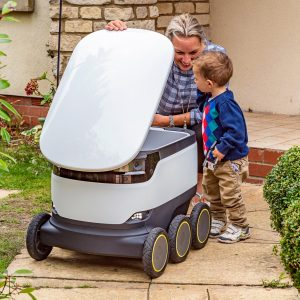 Starship Technologies mobile robot package delivery