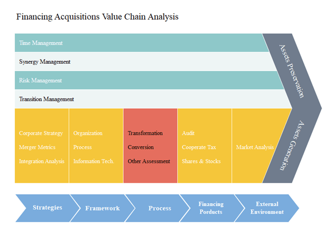 Financial Acquisitions Value Chain Analysis Template