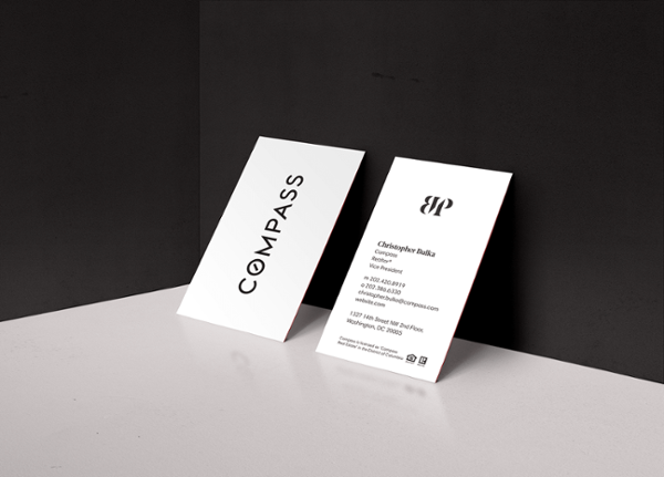 compass-realtor-business-card