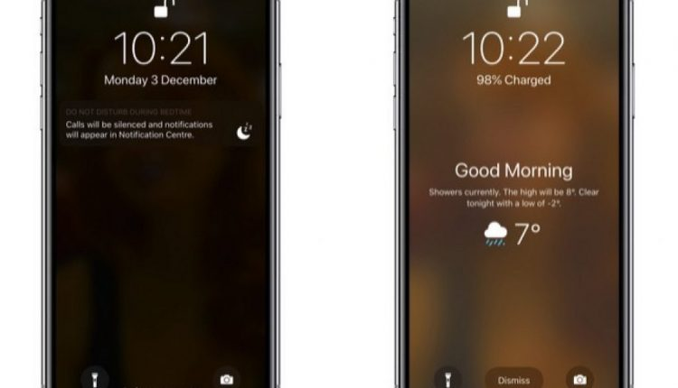 How to Wake Up to a Weather Forecast on Your iPhone's Lock Screen