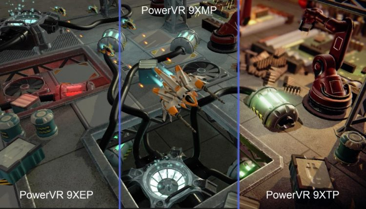 PowerVR GPUs and AI chips for mobile, auto, and entertainment