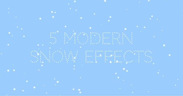 Decorate eCommerce Shop Snow Effects