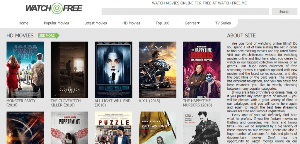 WatchFree 1024x491 - 15+ Best 123Movies Alternatives To Watch Movies For Free