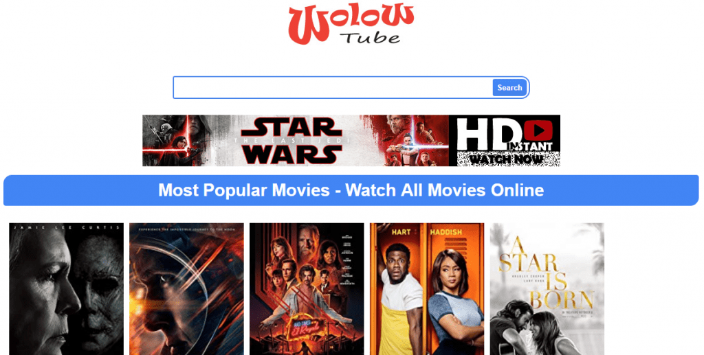 WoloWtube 1024x517 - 15+ Best 123Movies Alternatives To Watch Movies For Free