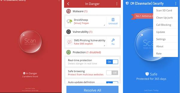 Use CM Security In Your Rooted Android