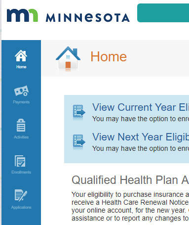 Font legibility issues on the MNsure website