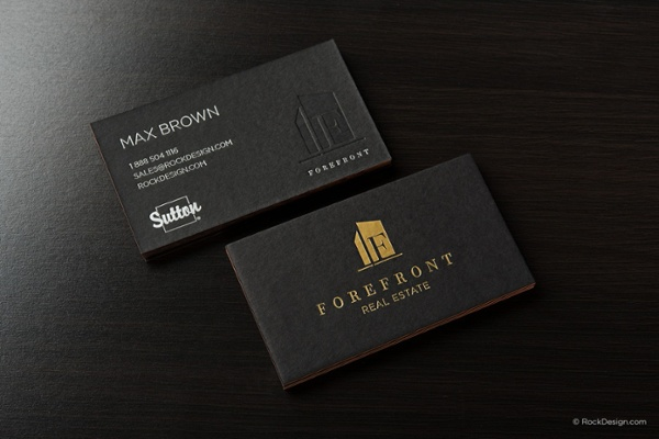 forefront-real-estate-realtor-business-card