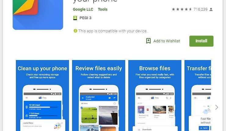 Update for Files by Google carries USB-OTG support