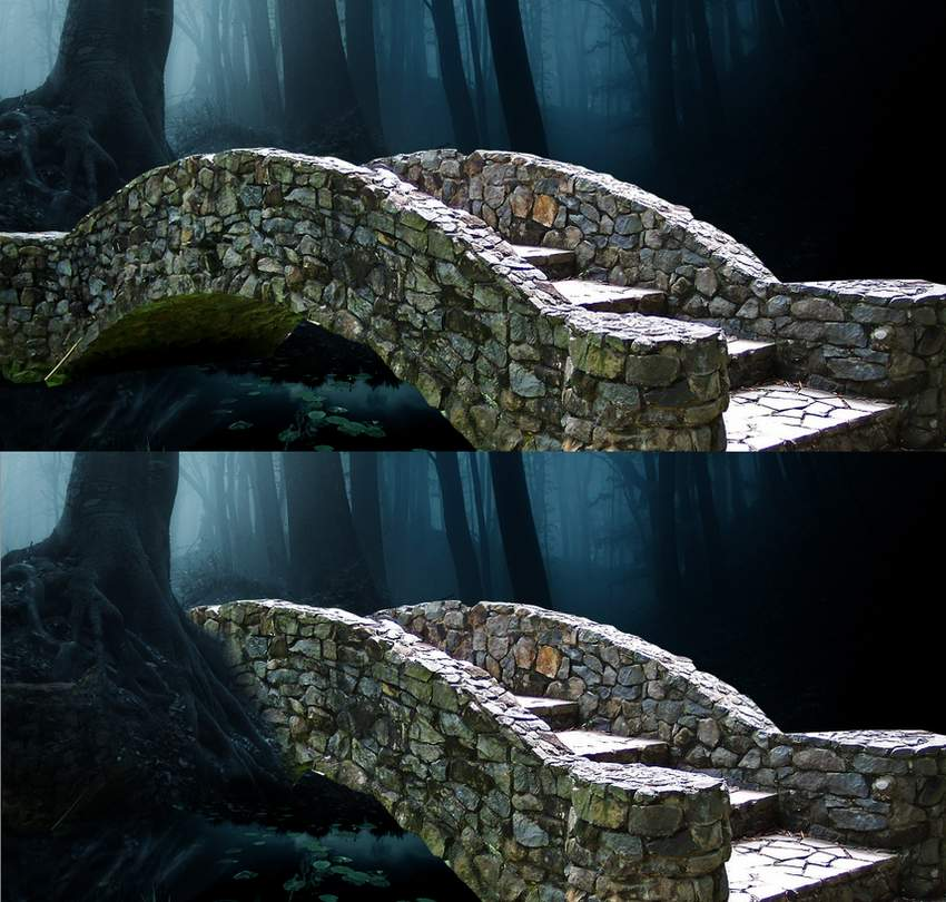 fantasy digital art -add bridge