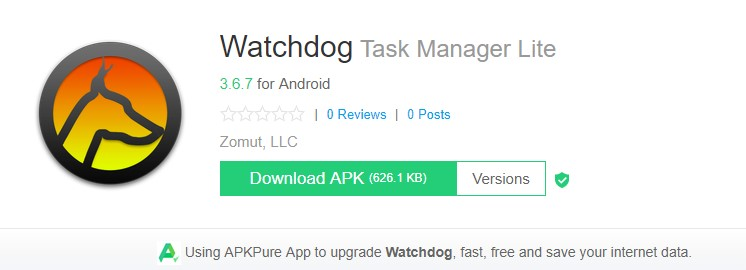 WatchDog Task Manager