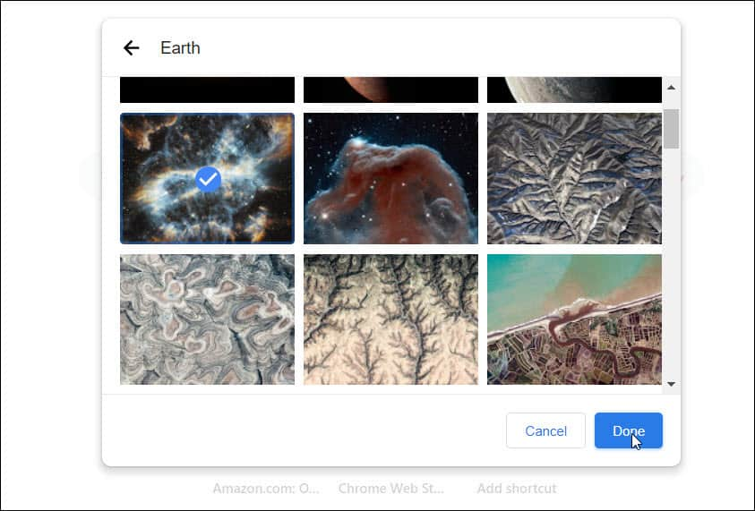 Google Gallery Backgrounds