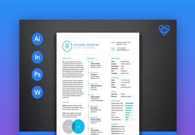25 Top One-Page Resume Templates
