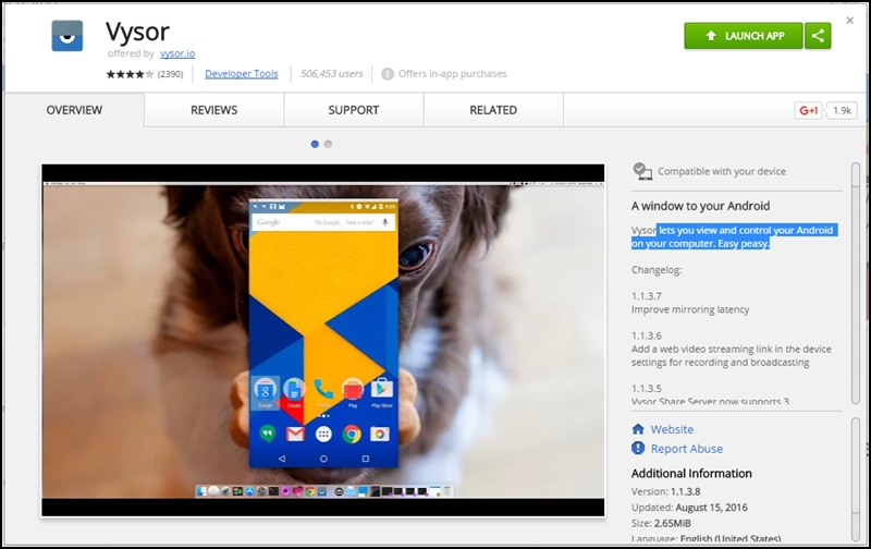 Mirror Your Android Mobile Screen to Window PC