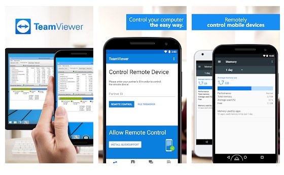 TeamViewer - Top 25 Best Android Apps For Developers or Programmers