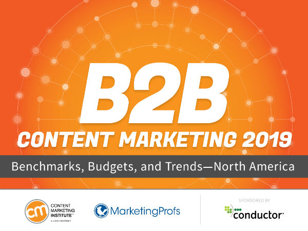 B2B content marketing research