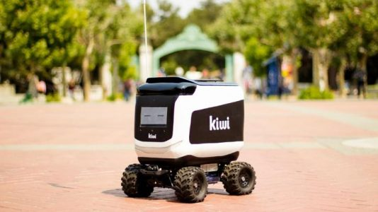 Delivery robot catches fire on UC Berkeley campus
