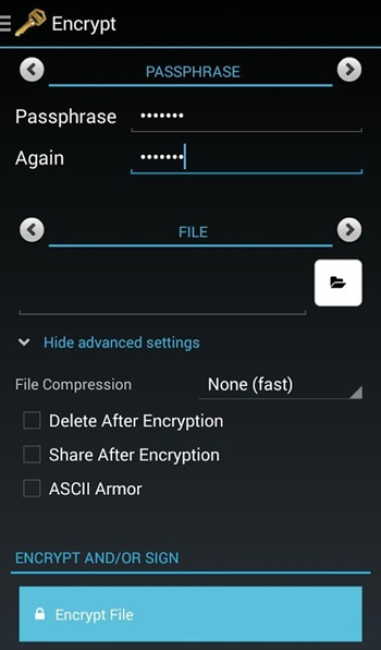 Send Encrypted Email On Android