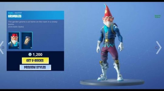 Fortnite Fan Thinks Epic Stole Their Idea for Grimbles Skin