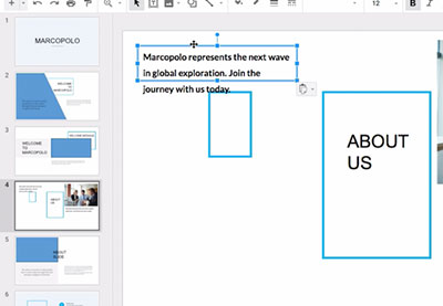How to Copy and Paste (Images & Text) on Google Slides