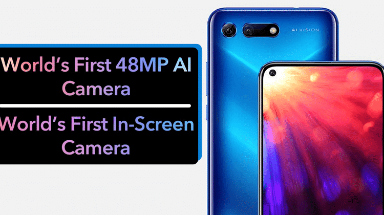 First Smartphone With In-Hole Display And 48MP AI Camera