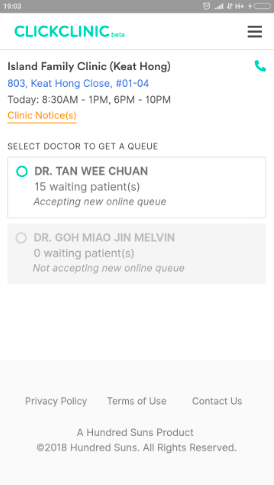 1545961718 650 ClickClinic sends you real time notifications on in Singapore