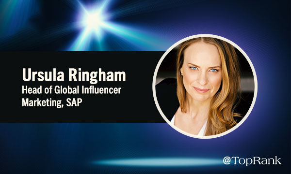 Influencer Marketing Interview Ursula Ringham
