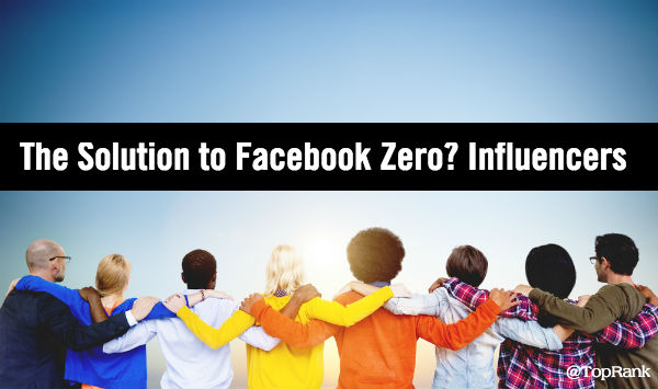 Facebook Zero Influencers