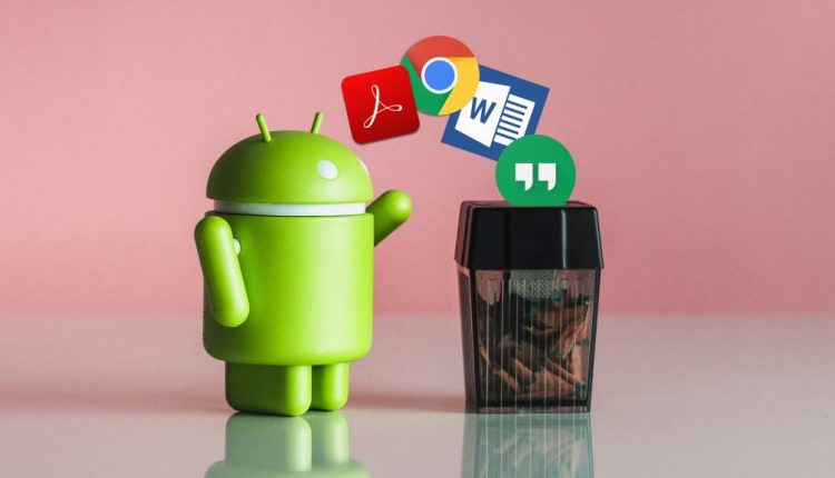 How to remove bloatware and preinstalled Android apps