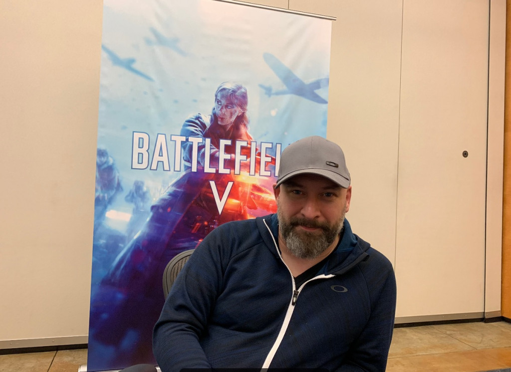 Eric Holmes of DICE is exec producer