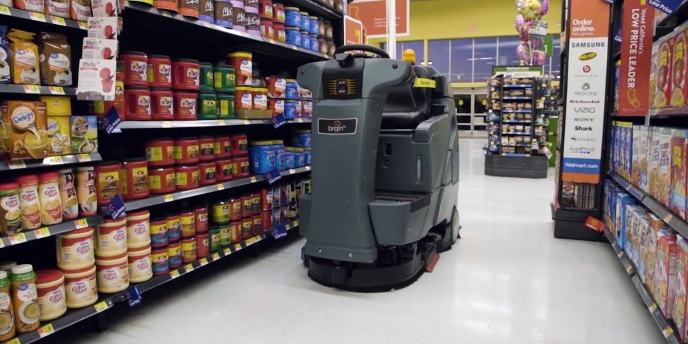 Walmart, Brain to Expand Self-Driving Floor-Cleaning Robots in Stores