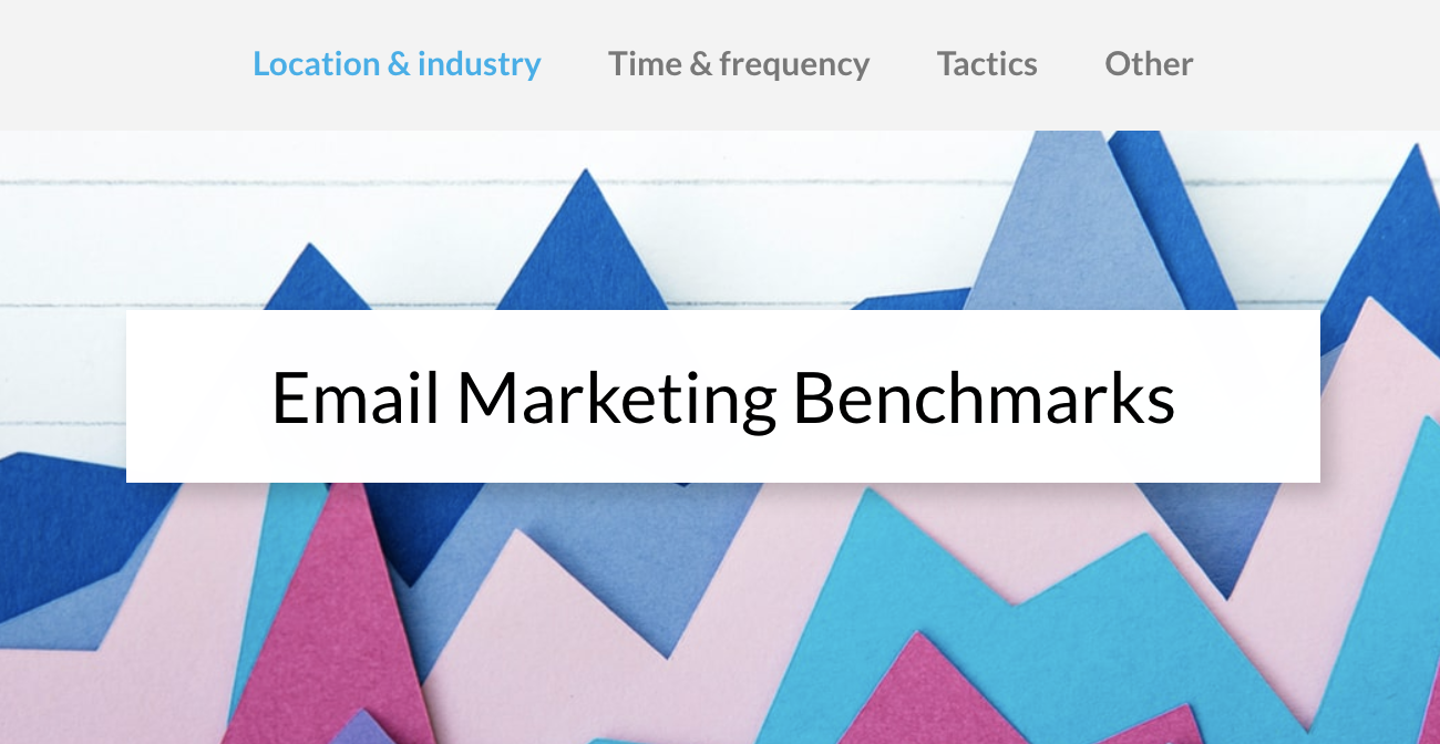email-marketing-benchmarks-report