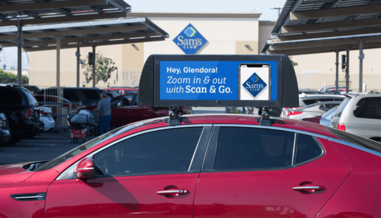 Firefly adds mobile device-like targeting to ads on car rooftops