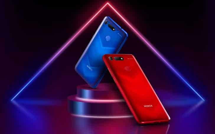 Honor V20 3 - Meet The World's First Smartphone With In-Hole Display And 48MP AI Camera