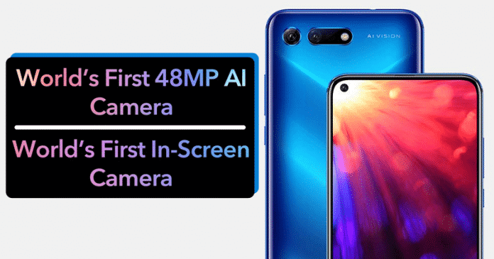 Meet The World's First Smartphone With In-Hole Display And 48MP AI Camera