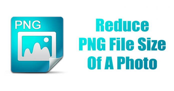 How To Reduce PNG File Size Of A Photo 2018