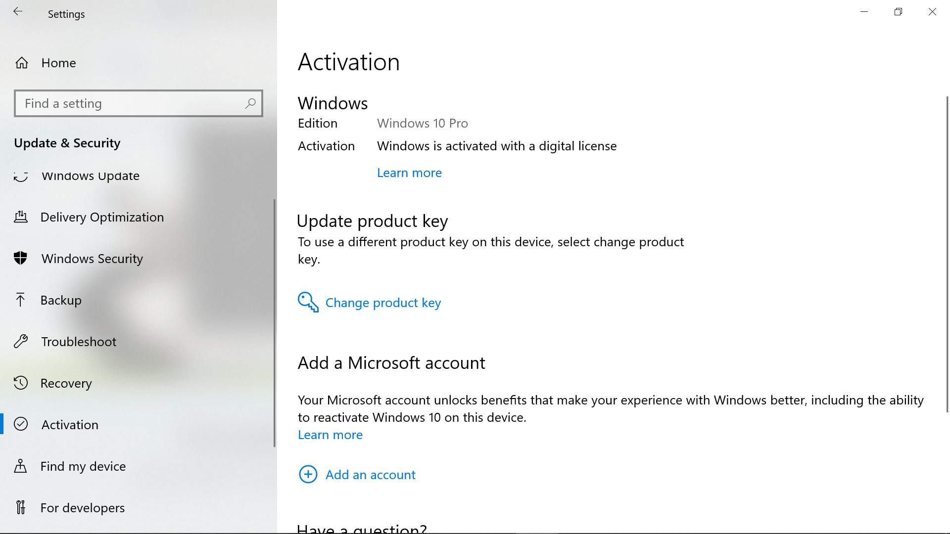 How to Find Your Original Windows 10 Product Key