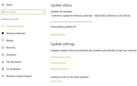 Download and Install the Available Update(s)
