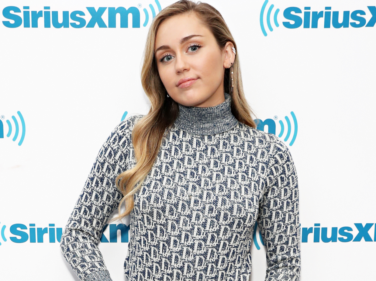 Miley Cyrus wore a $4,200 Gucci tracksuit on