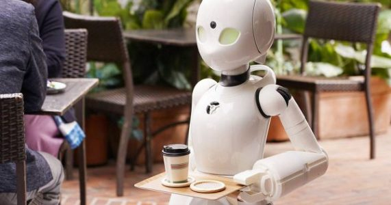 People With Paralysis Control the Robot Waiters at This Cafe