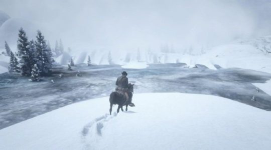 Red Dead Redemption 2 Player Glitches to Unused Snow Area