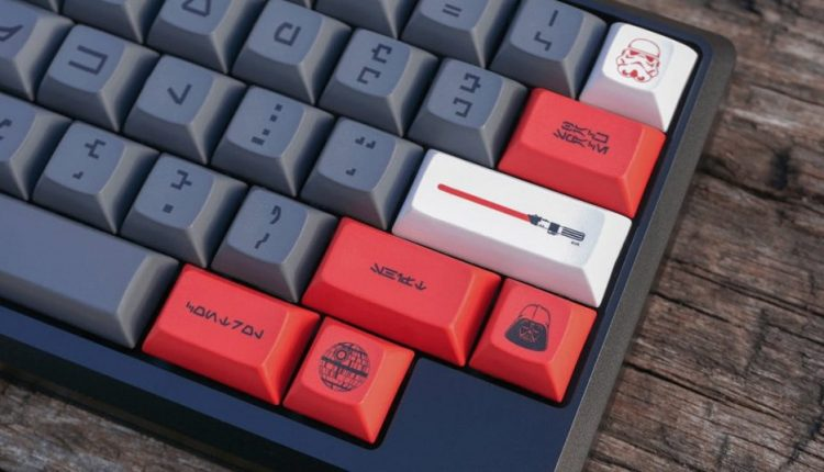 The Empire strikes your wallet with a $250 Star Wars keyboard