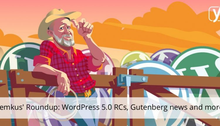WordPress 5.0 RCs, Gutenberg related news and food for thought! | SEO
