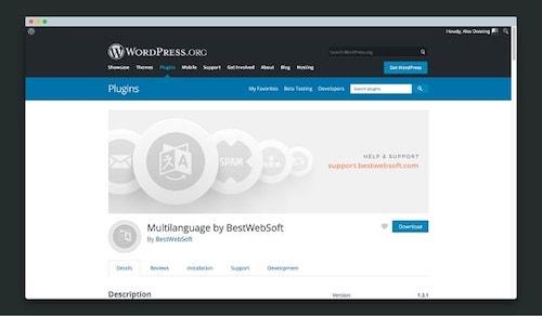 Wordpress Multilingual BestWebSoft