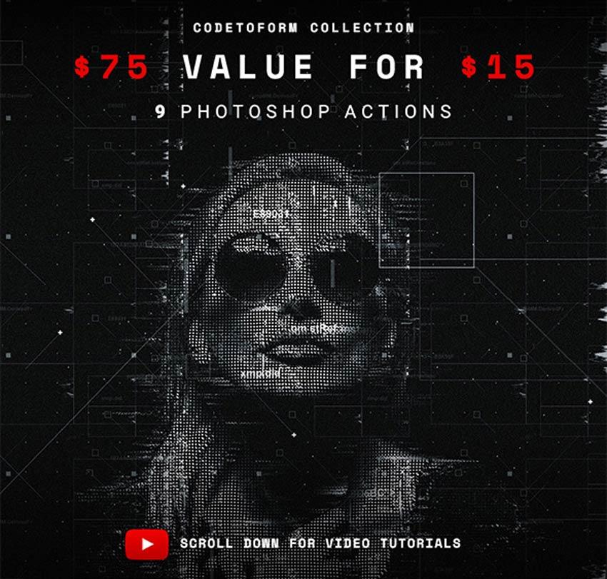 Codetoform Collection Photoshop Action